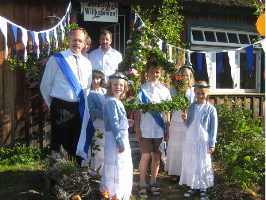 Traditionelles Kinderfest in Born